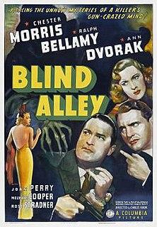 <i>Blind Alley</i> (film) 1939 film by Charles Vidor