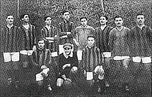 Bologna F.C. 1909 - Bologna squad from the 1912 season.