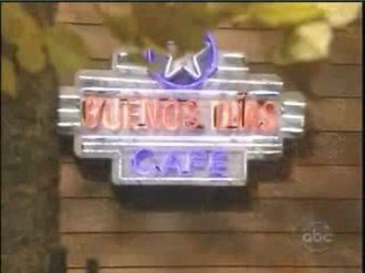 Llanview - Buenos Dias Cafe, formerly the DK Diner, as seen in the December 1, 2008, episode of One Life to Live.