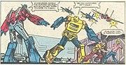 Bumblebee in Marvel Comics
