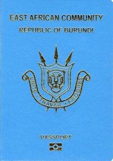 Burundian passport