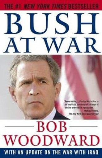 Bush at War - Image: Bush at War cover