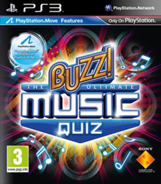 Buzz!: The Ultimate Music Quiz - Buzz!: The Ultimate Music Quiz cover