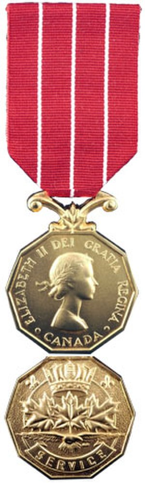 Canadian Forces Decoration - Image: CD Medal