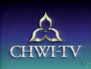 CHWI-DT - CHWI-TV logo from 1993 to 1994. CFPL-TV had a similar logo, with different call letters as the only difference.