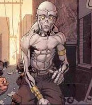 Caliban (comics) - Image: Caliban Comics