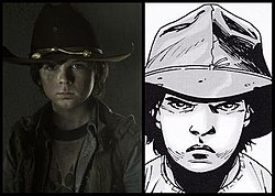 Carl Grimes. From Wikipedia 30a28660506c