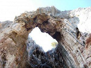 Agios Thomas, Boeotia - Cave with the wreath