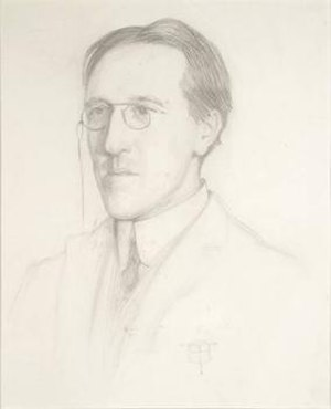 Charles Aitken - Pencil drawing of Charles Aitken