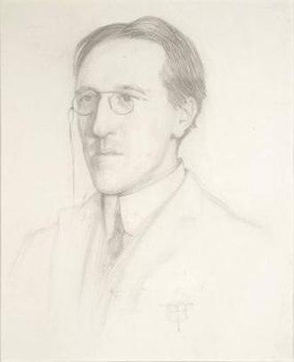 Charles Aitken - Pencil drawing of Charles Aitken