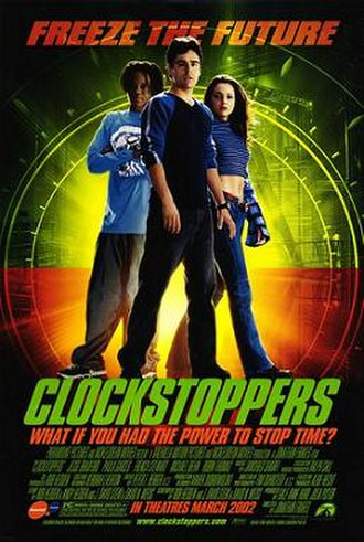 Clockstoppers - Theatrical release poster