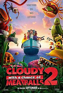 Cloudy With A Chance Of Meatballs 2 Wikipedia