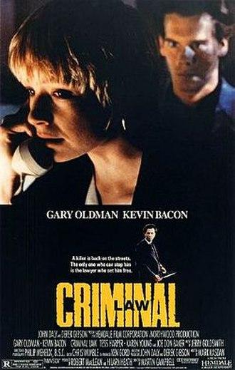 Criminal Law (film) - Image: Criminal Law