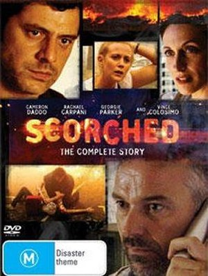 Scorched (2008 film) - Image: DVD cover for 2008 Australian film 'Scorched'