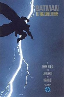 ed591bc4 Cover art for the first issue of The Dark Knight Returns
