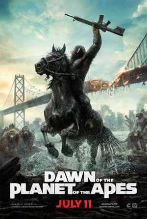 Dawn of the Planet of the Apes - Theatrical release poster