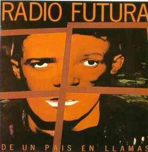 Radio Futura - De un País en llamas (1985), the composed face in the cover is made up from captions from each band member