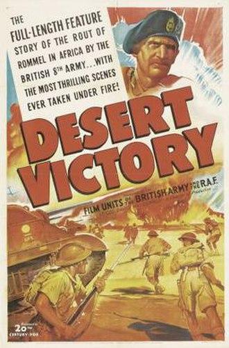 Desert Victory - Image: Desert Victory poster