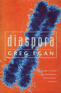 <i>Diaspora</i> (novel) novel by Greg Egan