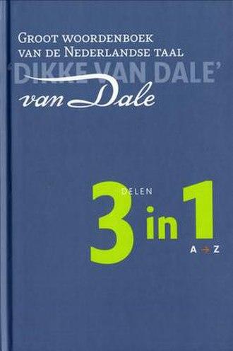 Van Dale - Image: Dikke van Dale