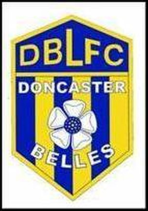 Doncaster Rovers Belles L.F.C. - Crest from the Doncaster Belles era pre-2003