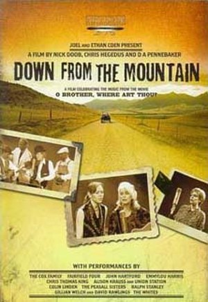 Down from the Mountain - The DVD cover