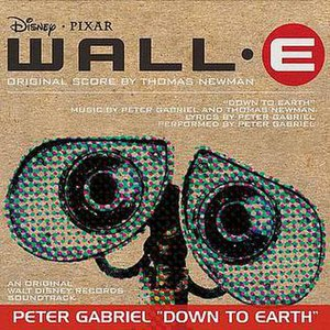 Down to Earth (Peter Gabriel song) - Image: Down to Earth single