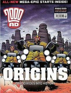 Origins (<i>Judge Dredd</i> story)