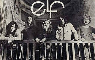 Elf (band) band of Ronnie James Dio