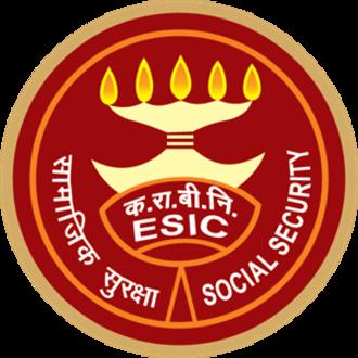 Employees' State Insurance - Image: Employee State Insurance Corporation Logo