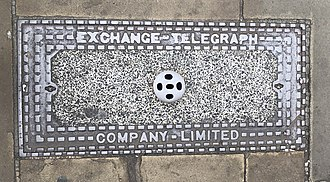 Extel - Image: Exchange Telegraph Company Limited cover