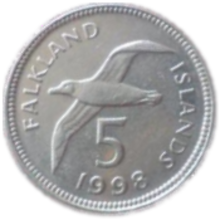 Falkland Islands Pound Image Falkland 5 Pence
