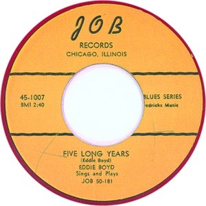 Five Long Years - Image: Five Long Years single cover