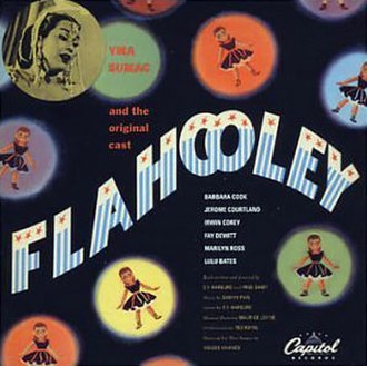 Flahooley - Capitol Records Album Cover for Flahooley