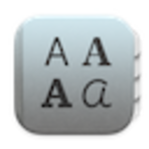 Font Book - Image: Font Book Icon