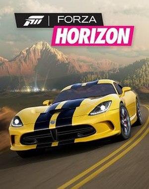 Forza Horizon - Image: Forza Horizon boxart