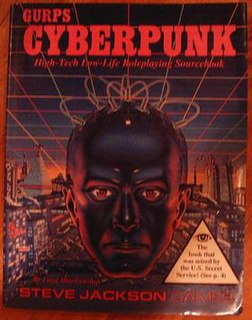 GURPS Cyberpunk book by William Gibson