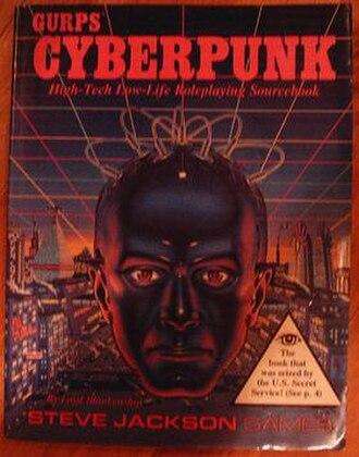 GURPS Cyberpunk - Image: GURPS Cyberpunk
