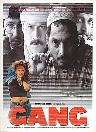 Gang (film) - Image: Gang (film) poster