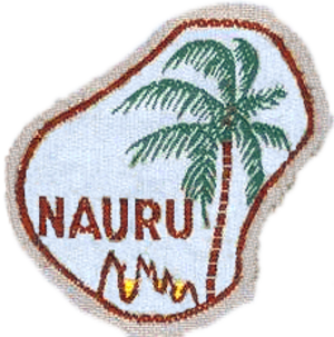 Scouting and Guiding in Nauru - The Girl Guides emblem of Nauru