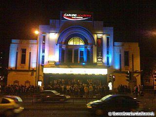 O2 Academy Glasgow music venue and former cinema in Glasgow