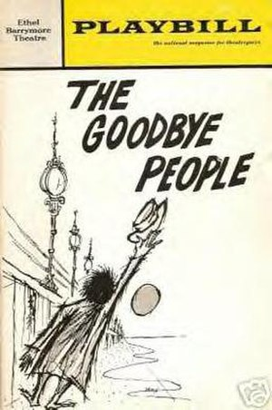 The Goodbye People - 1968 Playbill