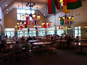 Gould Academy - Ordway Hall, Dining Hall at Gould Academy, Built in 1998