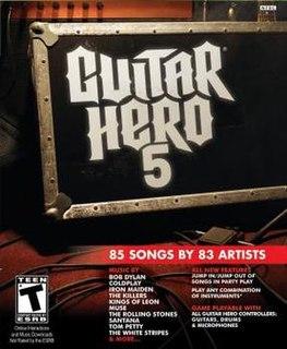 <i>Guitar Hero 5</i> 2009 video game