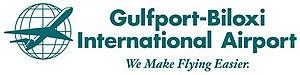 Gulfport–Biloxi International Airport - Image: Gulfport Biloxi International Airport Logo