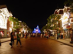 Main Street, U.S.A. at Hong Kong Disneyland