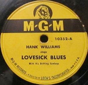 Lovesick Blues - Image: Hank Williams Lovesick Blues