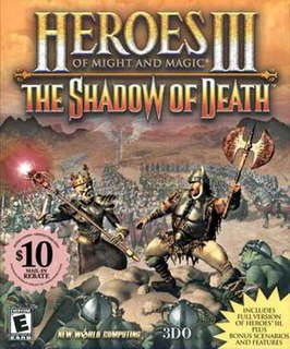 <i>Heroes of Might and Magic III: The Shadow of Death</i> video game