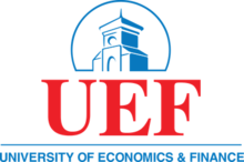 Ho Chi Minh City University of Economics and Finance UEF Logo.png