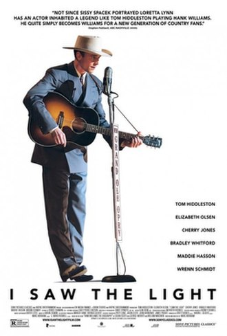 I Saw the Light (film) - Theatrical release poster